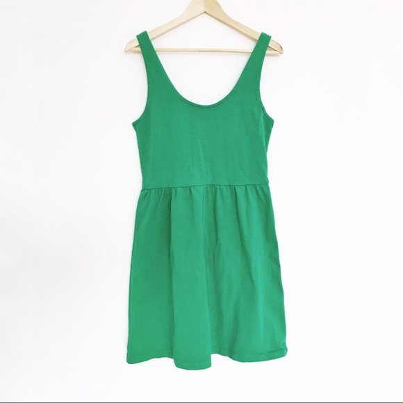 J. Crew Factory Dresses & Skirts - Green A-line J Crew Dress